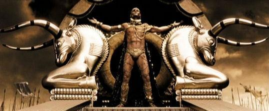 خشایار شاه در فیلم 300
