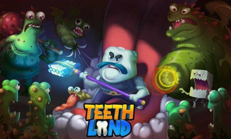 پوستر بازی سرزمین دندانها