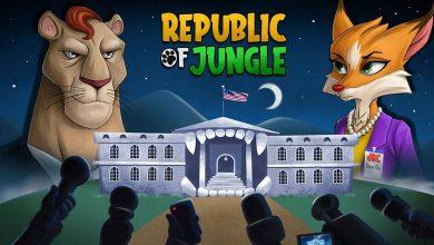 تصویر از کیک استارتر بازی جمهوری جنگل آغاز شد