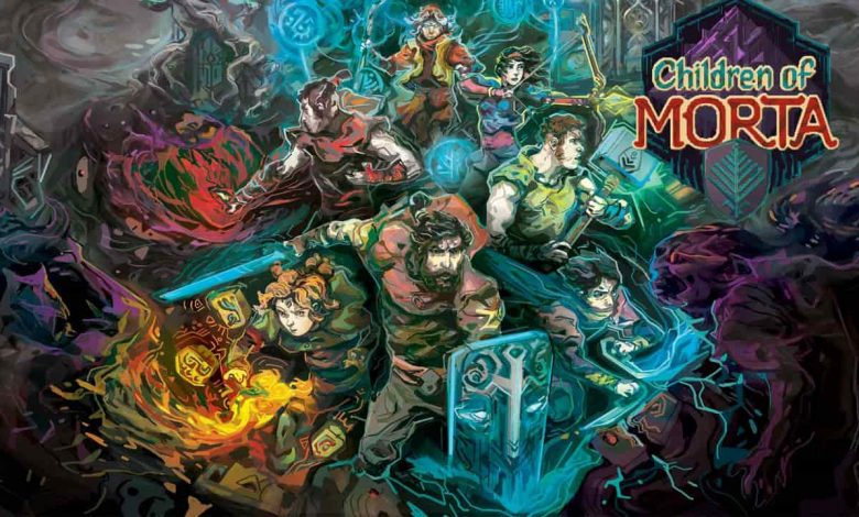 پوستر بازی فرزندان مورتا