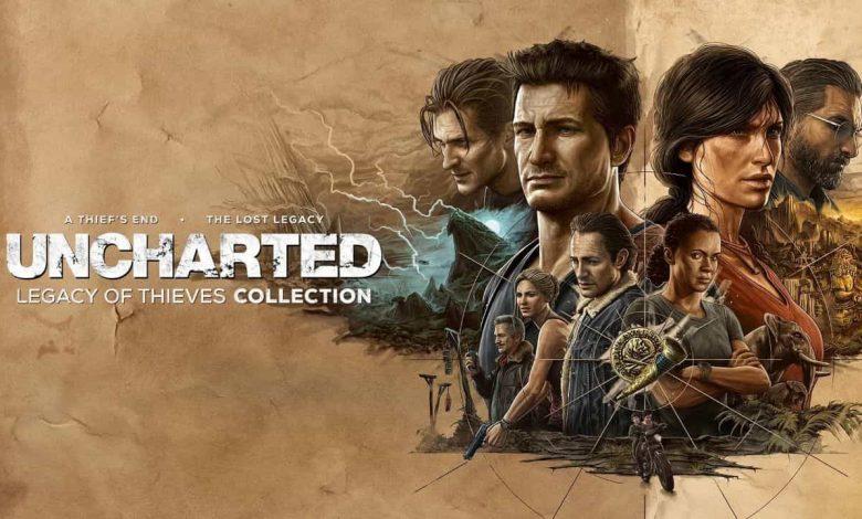 مجموعه Uncharted: Legacy of Thieves برای پیسی و پلی استیشن 5 منتشر میشود