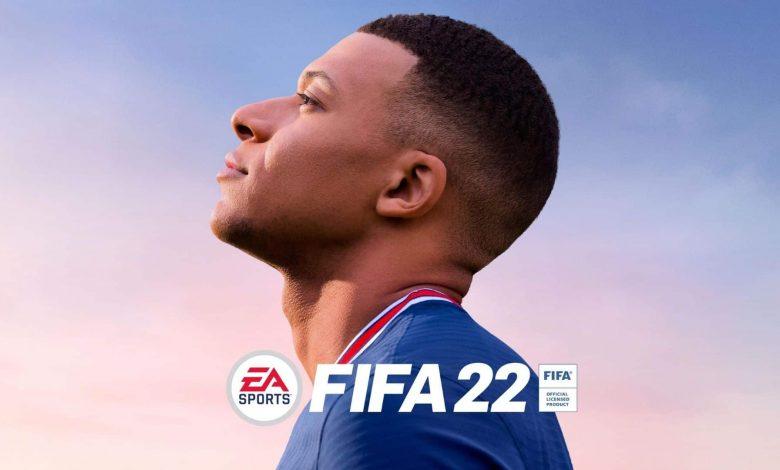 تصویر از بازی FIFA 22 منتشر شد